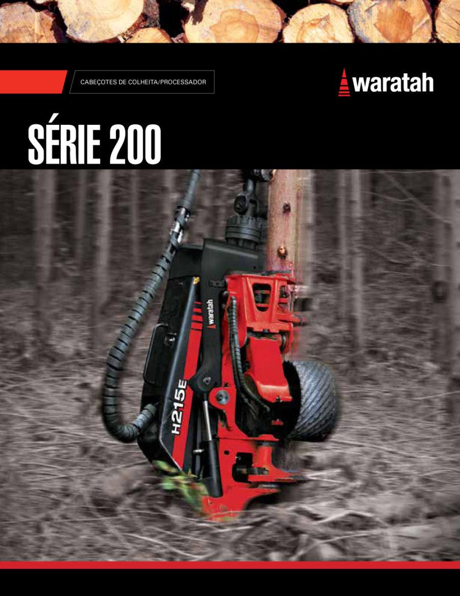Waratah, série 200 - catálogo