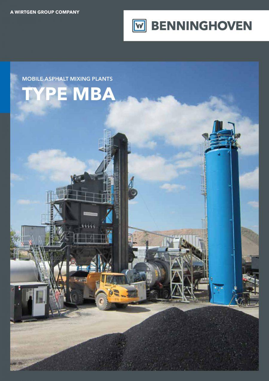Centrais móveis MBA Catálogo