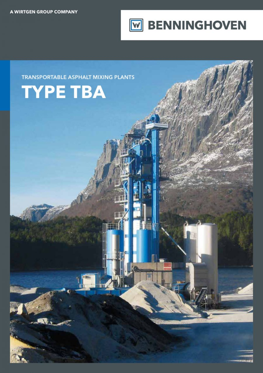 Centrais TBA - Catálogo
