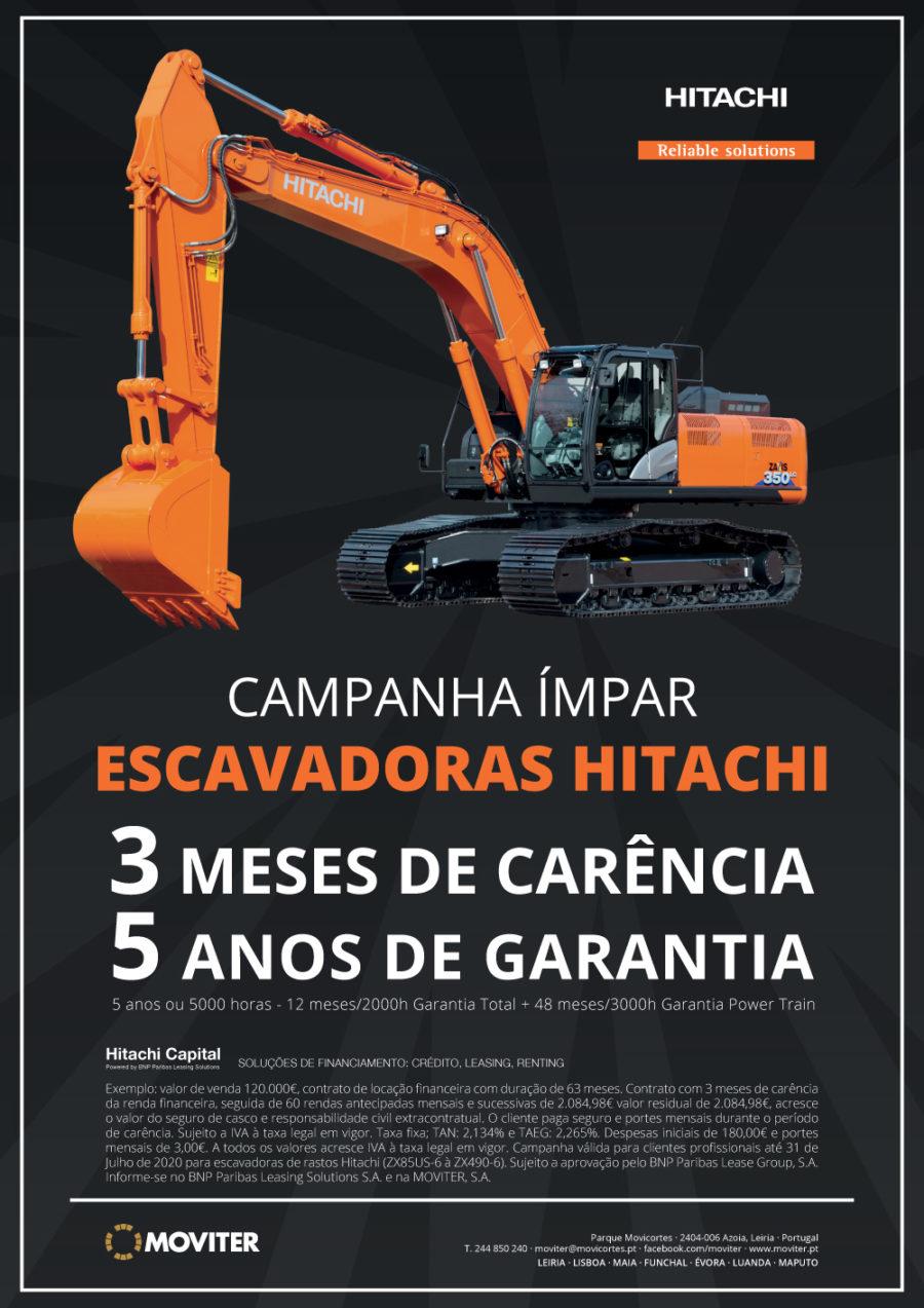 Campanha - Escavadoras Hitachi