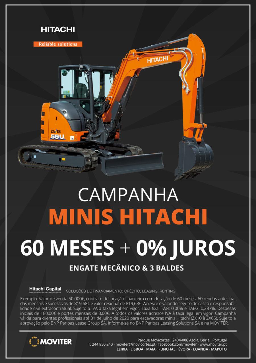 Campanha - minis Hitachi
