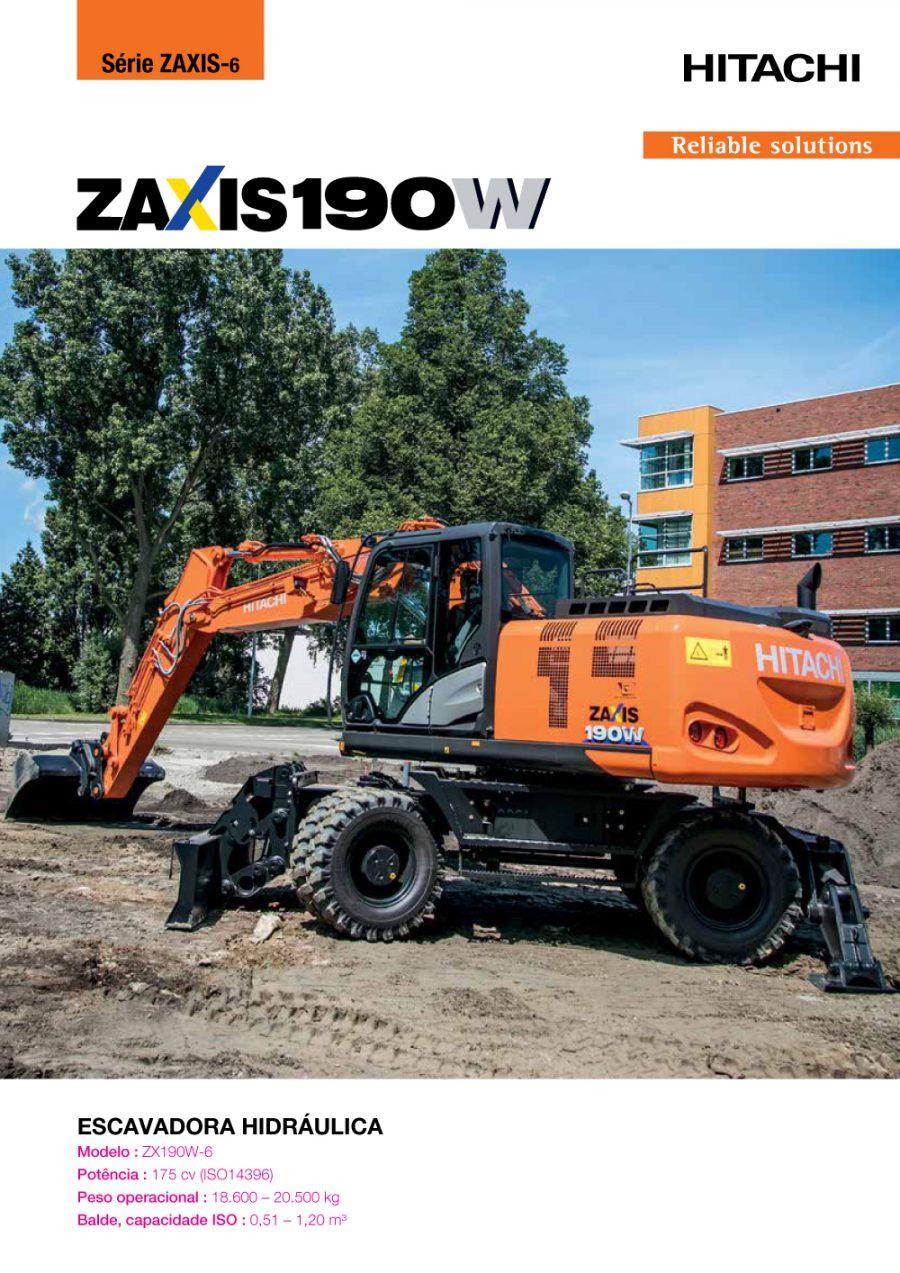 Catálogo ZX190W-6