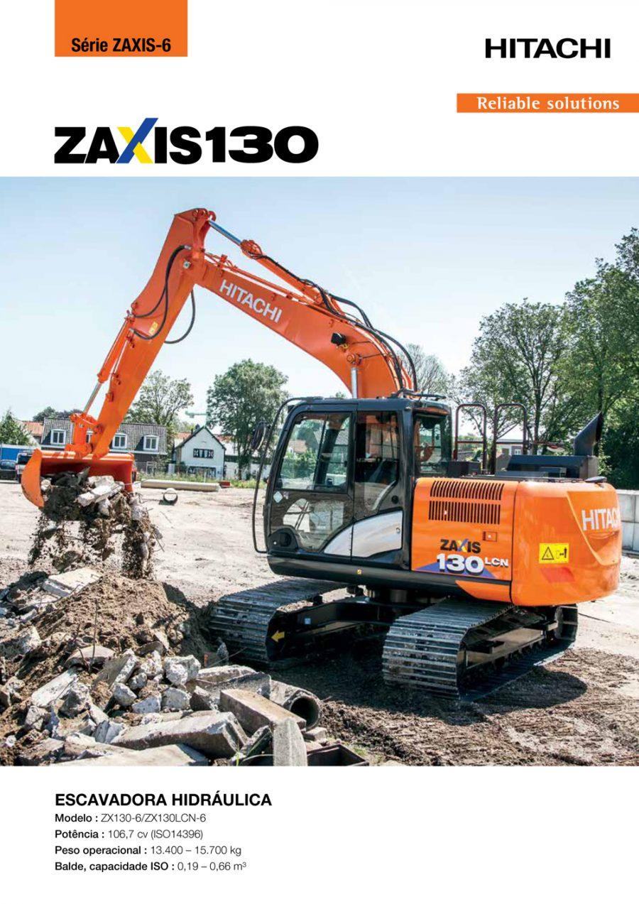 Catálogo ZX130-6