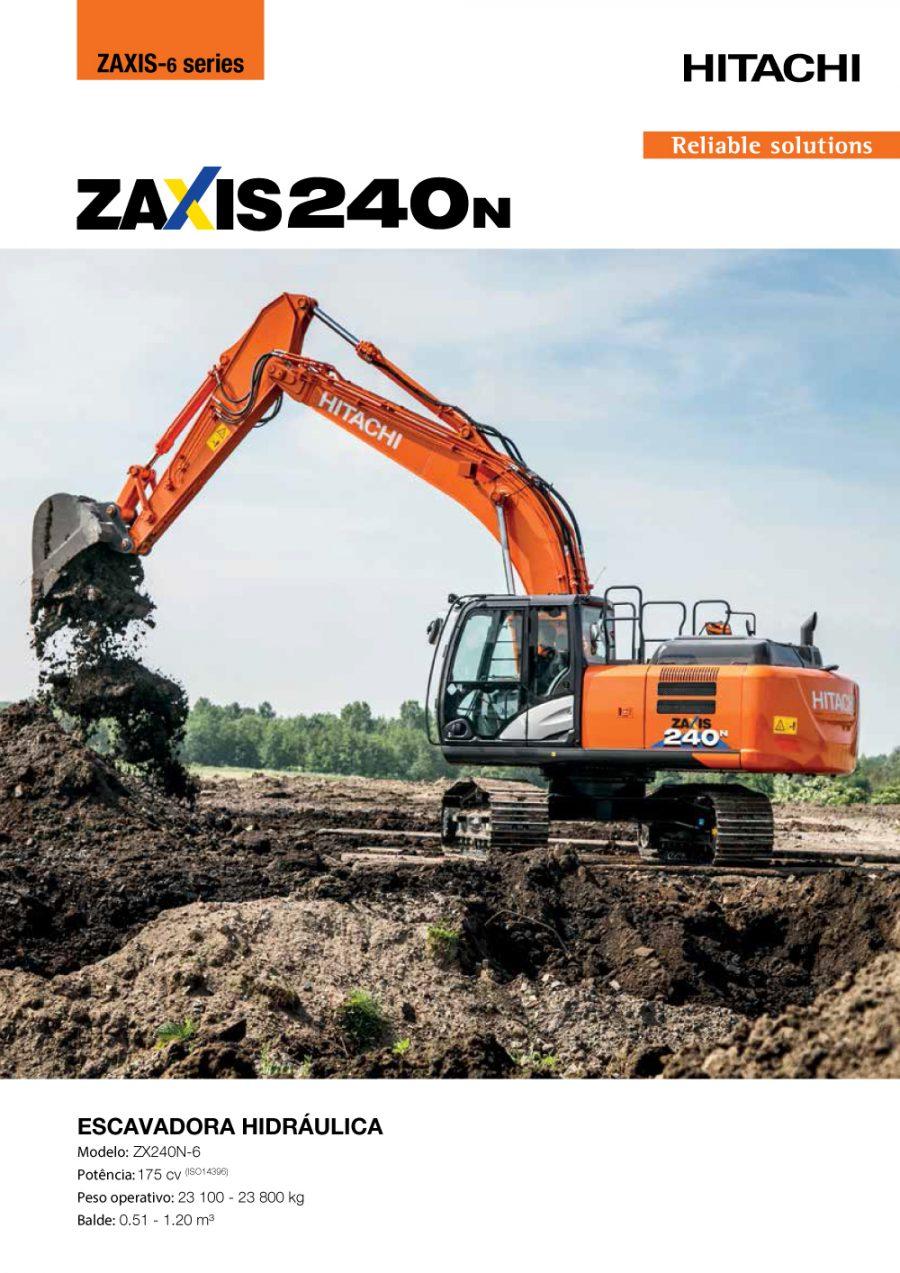 Catálogo ZX240N-6
