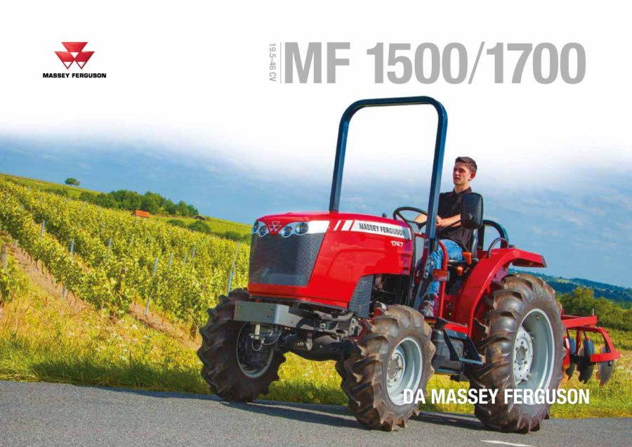MF 1500 / MF 1700 - catalogo