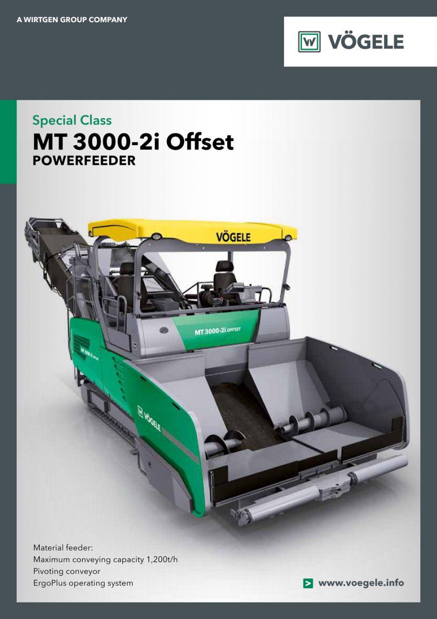Catálogo Vögele MT3000-2i Offset