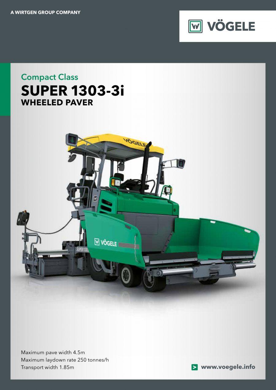 Catálogo Vögele Super 1303-3i