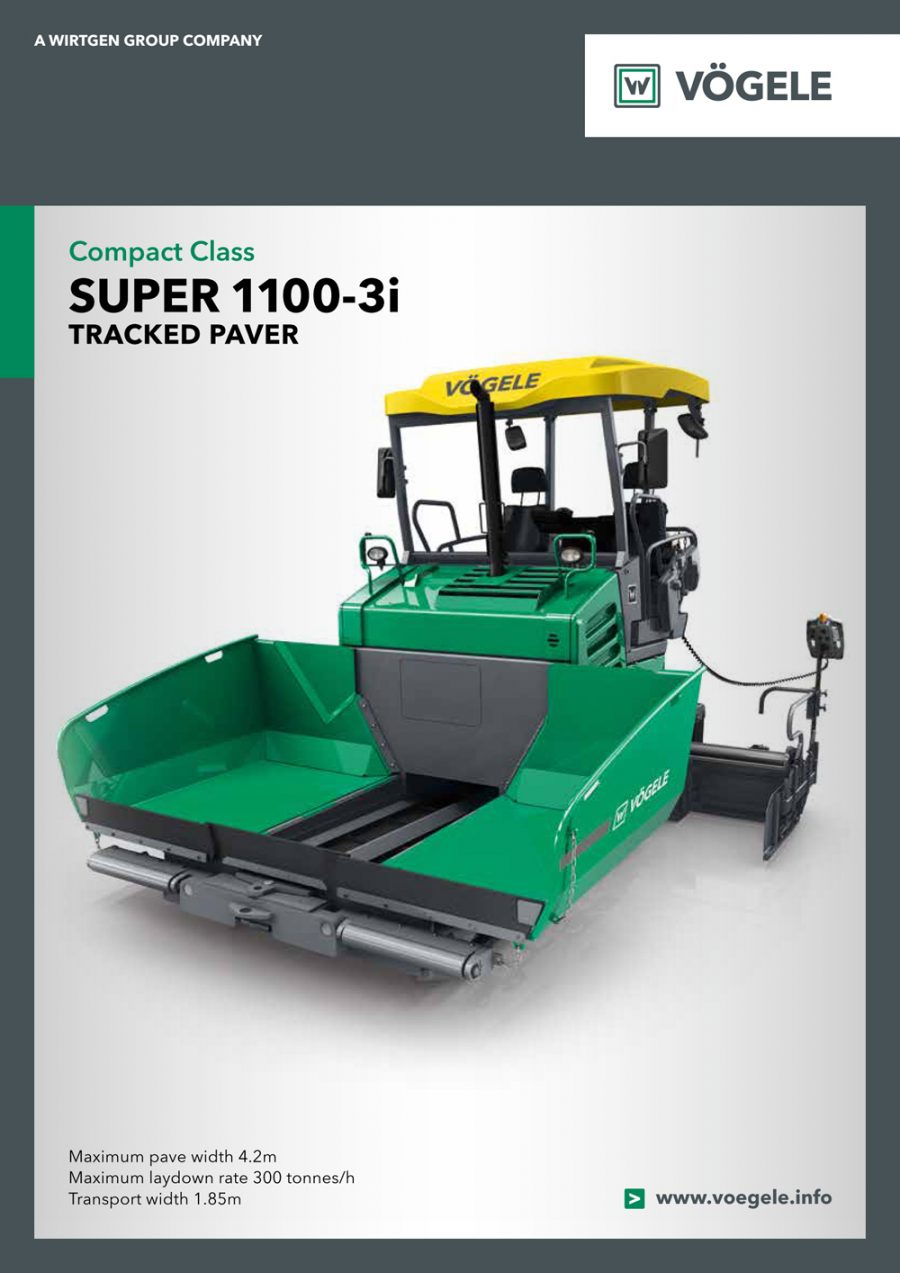 Catálogo Vögele Super 1100-3i