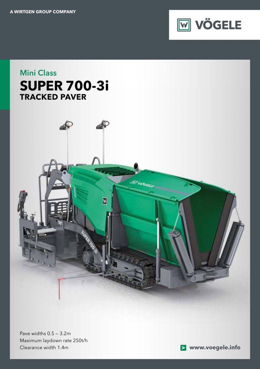 Catálogo Vögele Super 700-3i