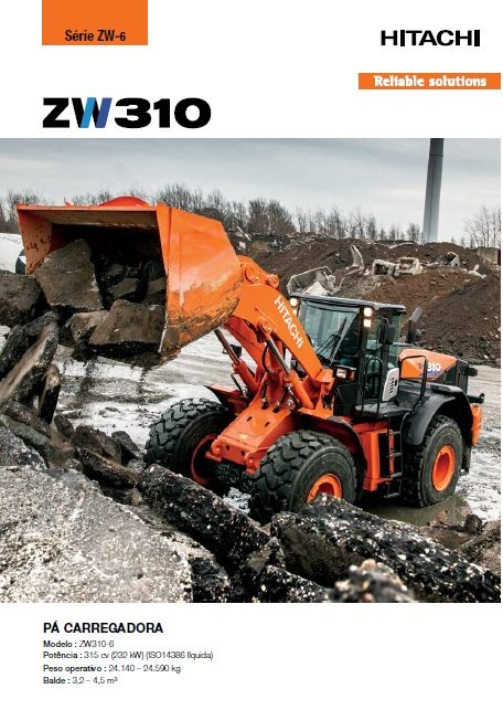 Catálogo ZW310-6