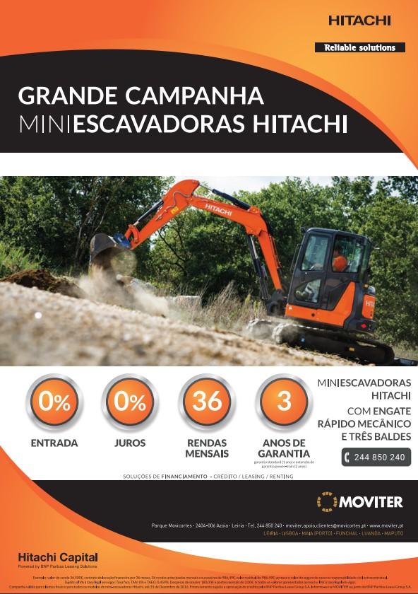Hitachi Mini escavadoras