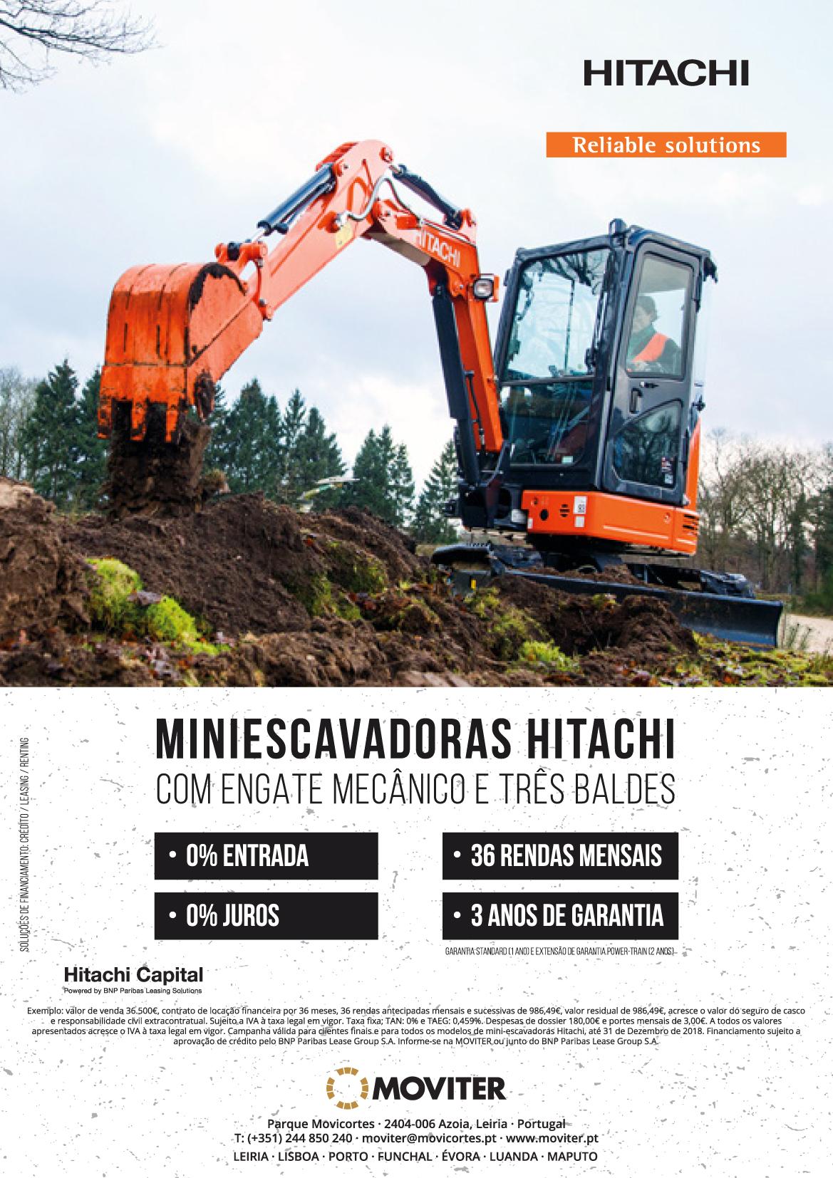 Hitachi_Mini escavadoras Moviter_2018